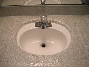 How To Refinish Kitchen Sink how to paint a sink with sink epoxy