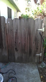 fix sagging fence gate
