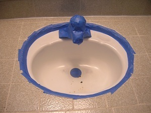 epoxy paint for bathroom sink how to paint a sink with sink epoxy 23142